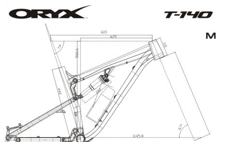 T-140 S10P Геометрия