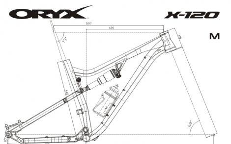 X-120 S10R Геометрия