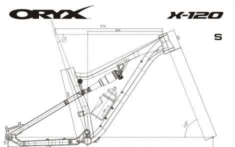 X-120 S9X Геометрия