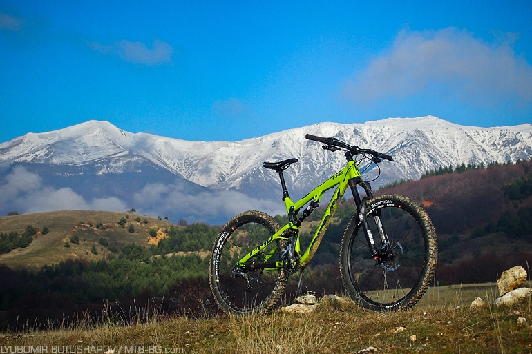 ORYX T-140 TEST in MTB-BG